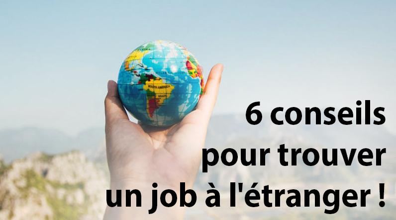 Yupeek - 6 conseils pour trouver un job a l etranger