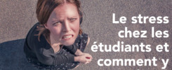 stress chez étudiants