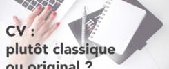 CV : classique ou original