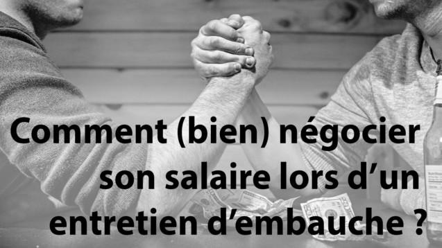 negocier salaire