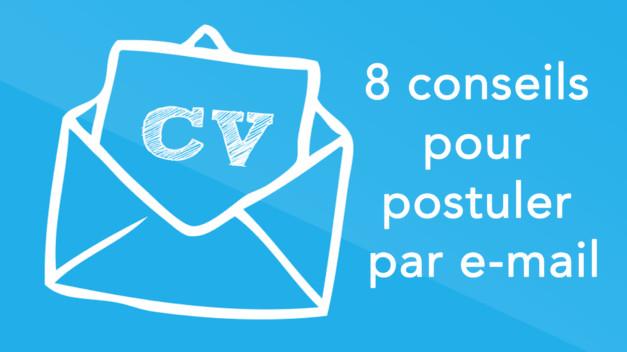 8 conseils pour postuler par e-mail